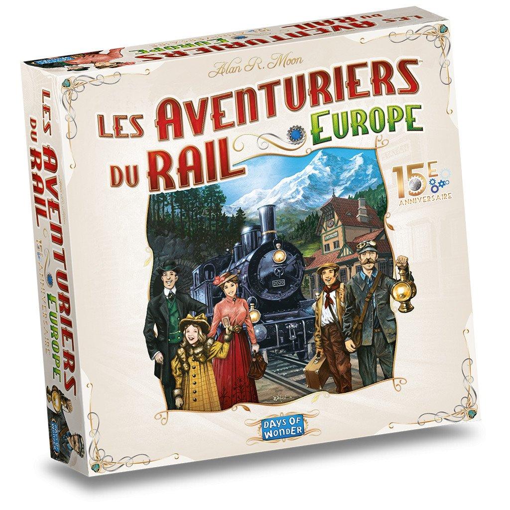 Les Aventuriers du Rail – Europe 15ème Anniversaire
